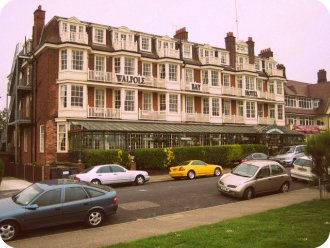 The Walpole Bay Hotel. Cliftonville, England