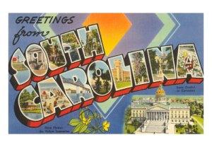 South-Carolina-postcard